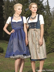 Women Blue Dirndl